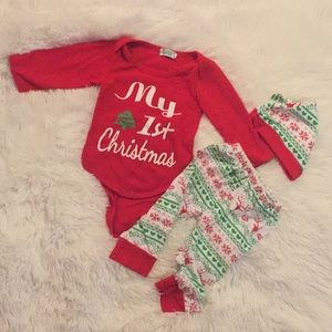 Other - First Christmas outfit.